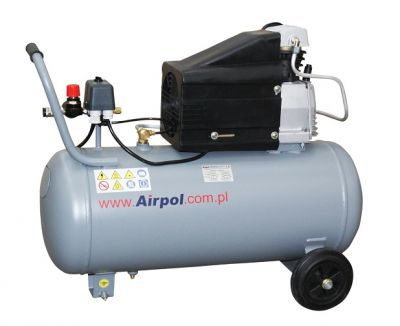 Kompresor tłokowy AIRPOL - Com-R1-50 1,8 kW 8 bar