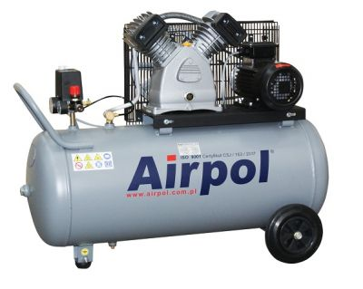 Kompresor tłokowy AIRPOL Com-R2-100 2,2kW 10bar