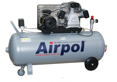 Kompresor tłokowy AIRPOL Com-R3-200 3kW 10bar