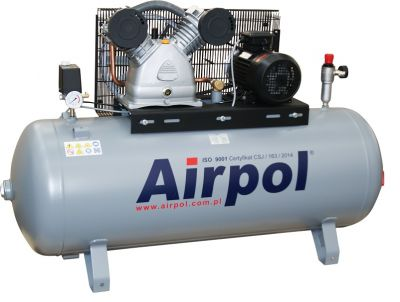 Kompresor tłokowy AIRPOL Com-R4-270 4kW 10bar