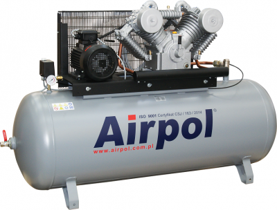 Kompresor tłokowy AIRPOL Com-R7-500 7,5kW 15bar